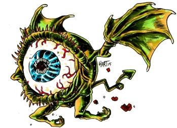 flying eye color