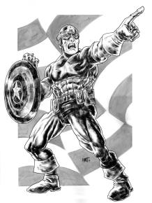 CaptainAmericaBW